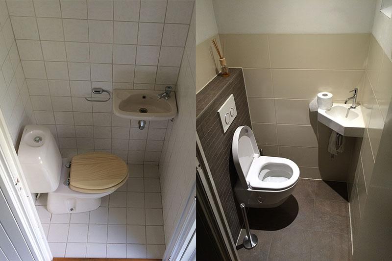 Klus zo zuidlaren allround klussenbedrijf - Renovatie wc ...
